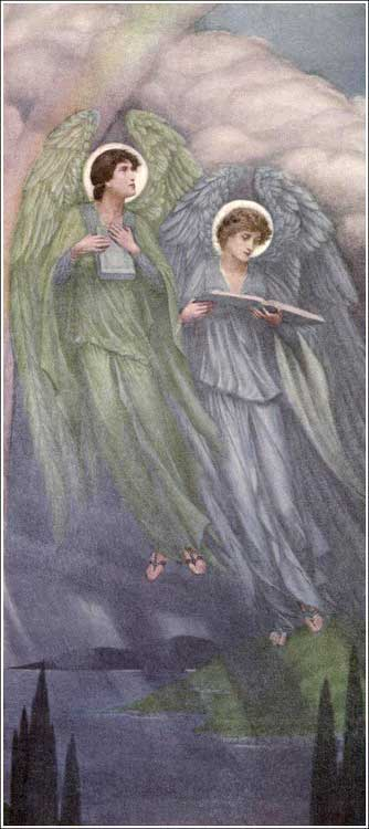 <i>The Recording Angels</i> by Sidney Harold Meteyard, ca. 1910.