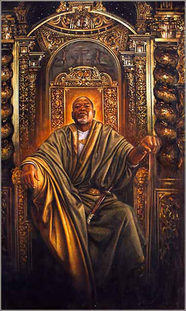 Solomon on his Throne