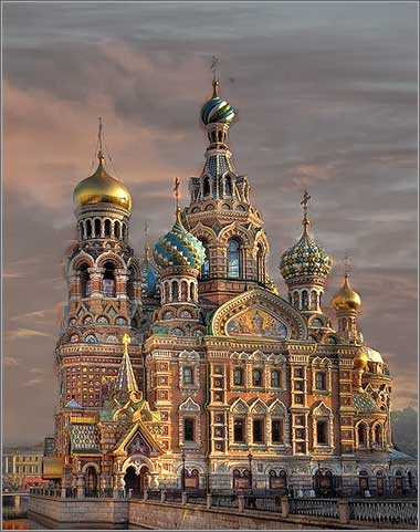 <i>Church on Spilled Blood</i> in St. Petersburg, Russia.