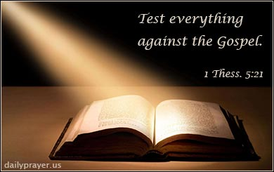 1 Thessalonians 5 | Test everything