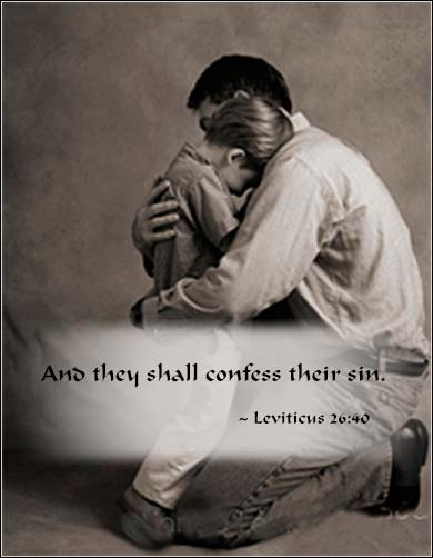 And they shall confess their sin | Leviticus 26