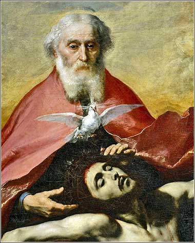 <i>The Holy Trinity</i> by José de Ribera, ca. 1835