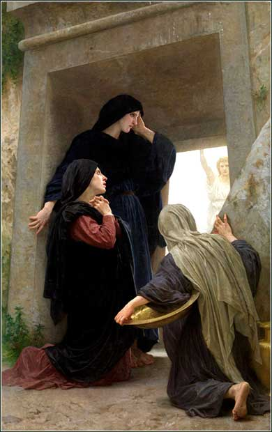 <i>Women at the Tomb</i> by William Adolphe Bouguereau, ca. 1890.