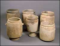 Hebrew purification jars