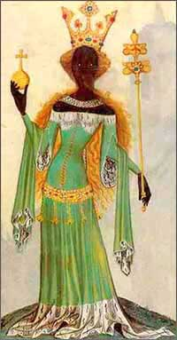 Medieval Queen of Sheba