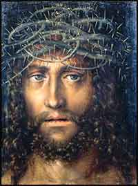 Head of Christ|Crown of Thorns by Cranach