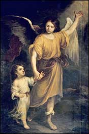 Guardian angel by Murillo