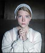 Puritan girl praying