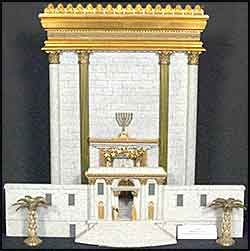 Temple of Solomon model
