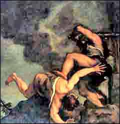 Cain and Abel by Titian
