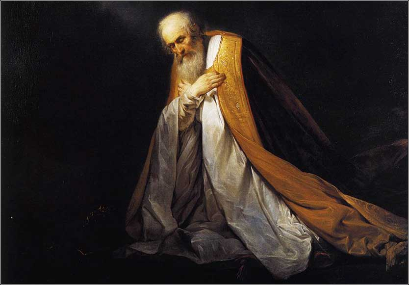 <i> King David at Prayer</i>, by Pieter de Grebber, ca. 1640.