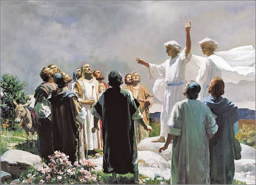 <i>The Ascension of Jesus</i> by Harry Anderson, ca. 1964.