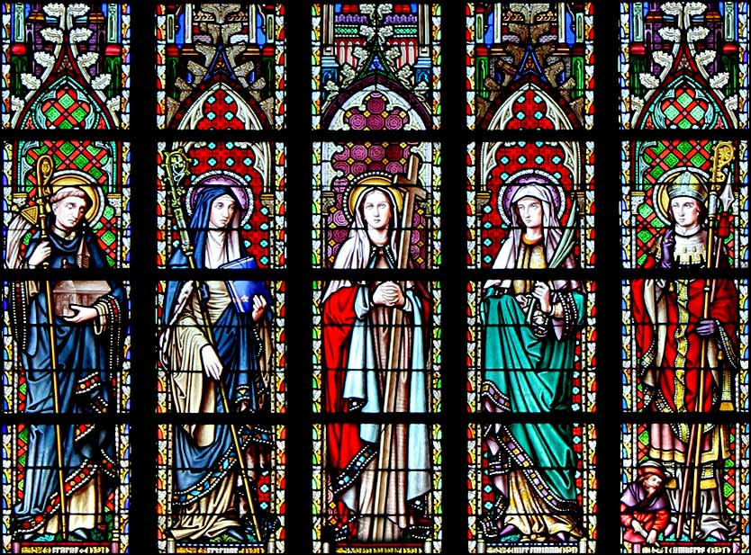 Stained glass | Eglise du Sablon, Brussels