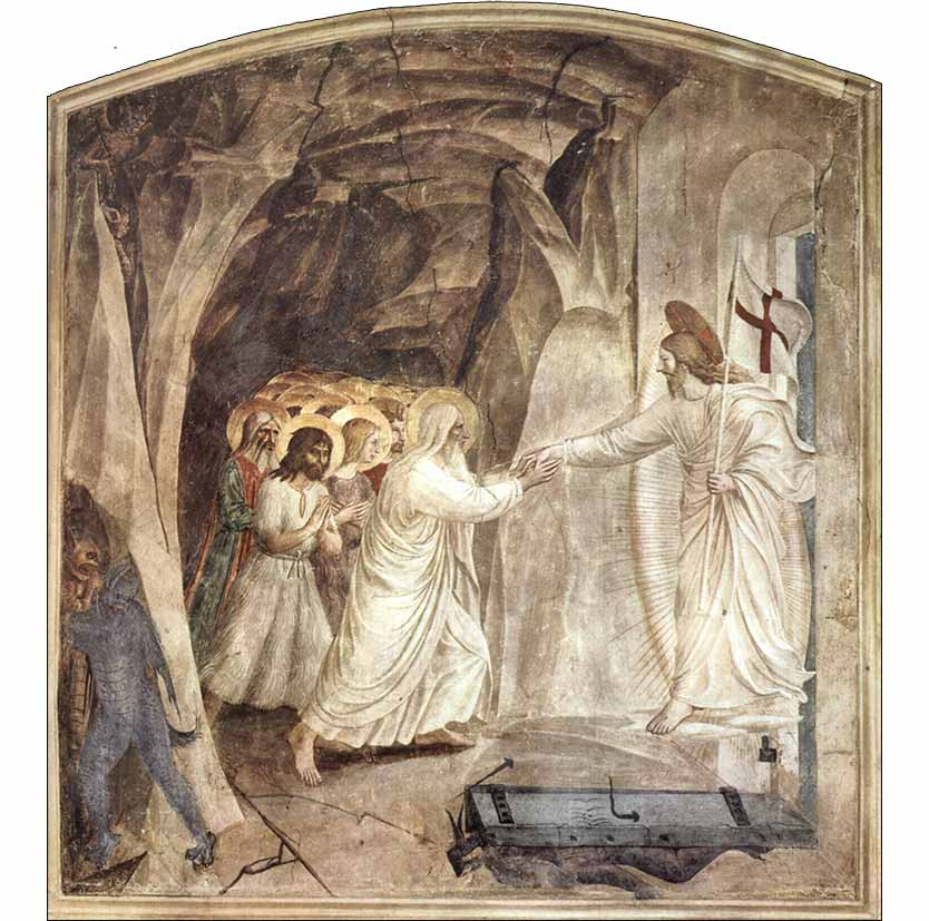 <i>Christ in Limbo</i> by Fra Angelico, ca. 1442.