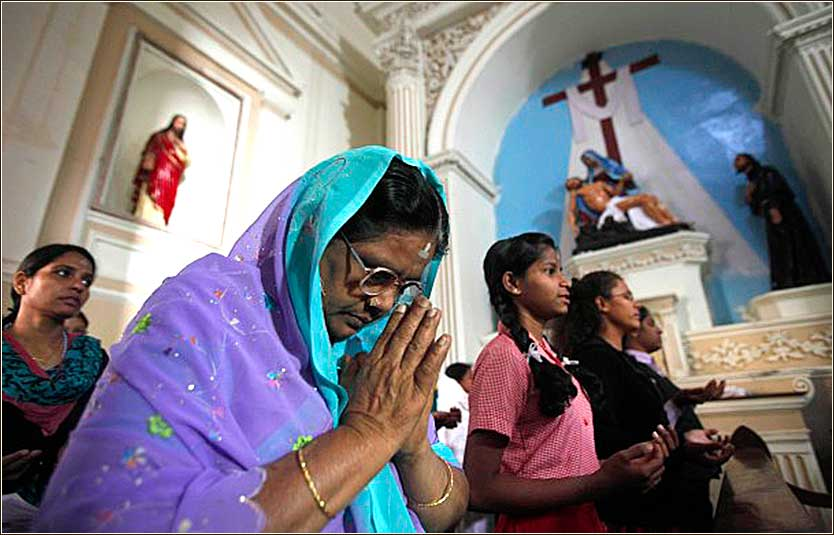 Ash Wednesday in India