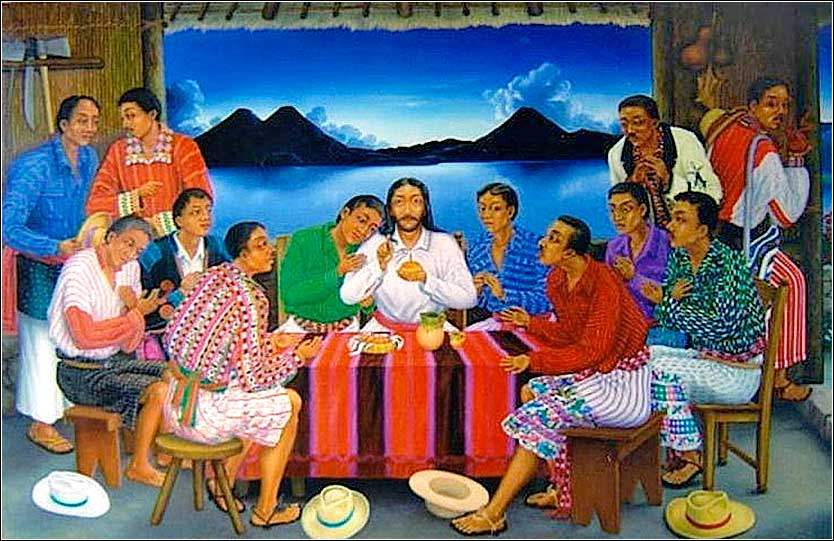 <i>The Apostles of the Lake</i> by Manuel Reanda, Atitlan, Guatemala, ca. 1998 | The Last Supper