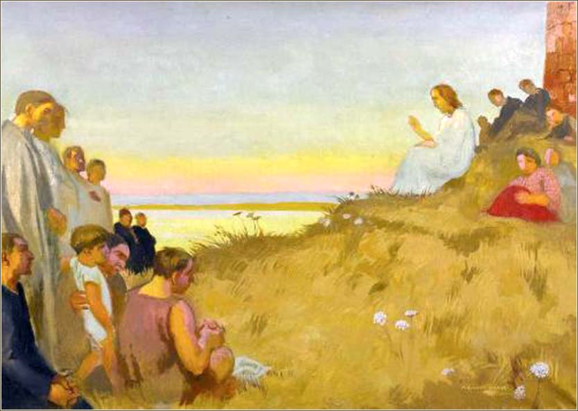 <i>Sermon on the Mount</i> by Maurice Denis, ca. 1927.