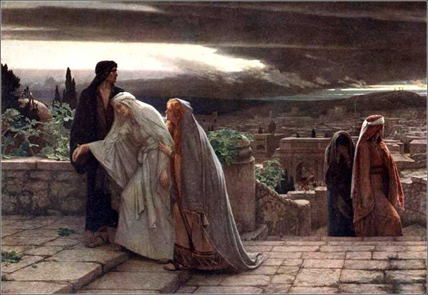<i>The Return from Calvary</i> by Herbert Gustave Schmalz, ca. 1891.