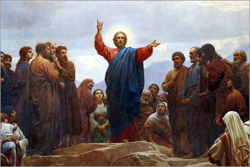 <i>Sermon on the Mount,</i> by Henrik Olrik