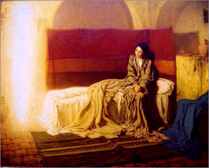 <i>The Annunciation</i>, Henry Ossawa Tanner ca. 1898.