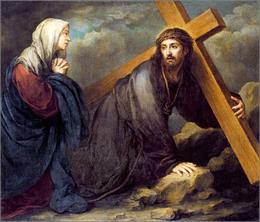 <i>Christ at Calvary</i> by Bartolome Esteban Murillo ca. 1660.
