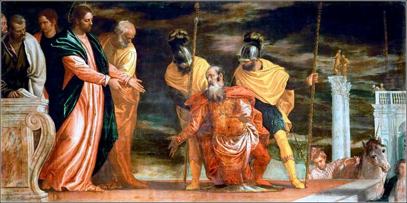 <i>Christ Heals the Centurion&rsquo;s Servant</i> by Paolo Veronese, ca. 1570