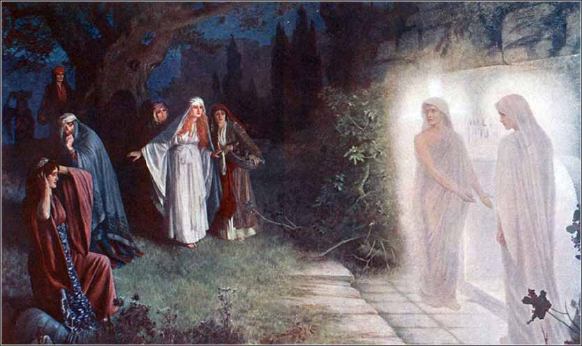 Resurrection Morn, showing the resurrection of Jesus Christ, by Herbert Schmalz