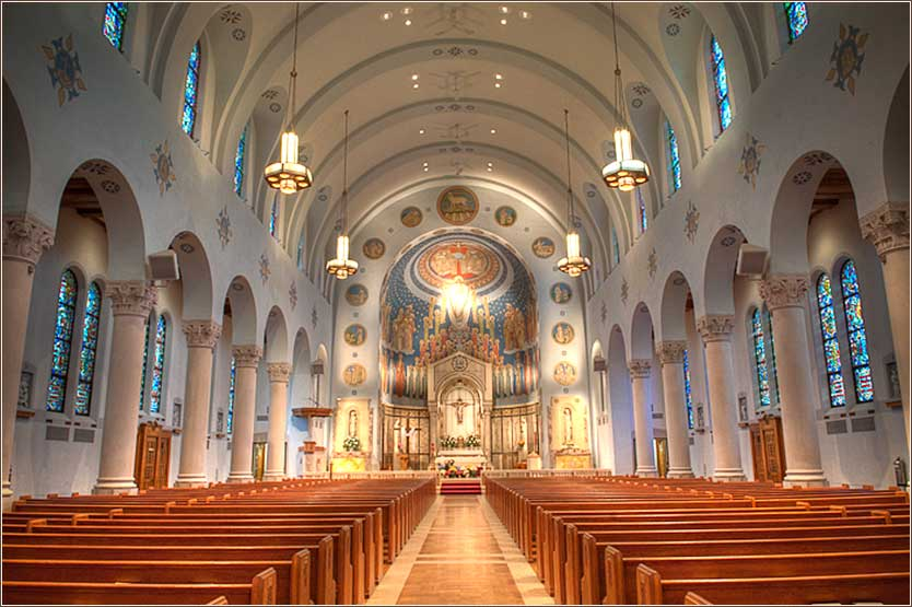 Church of the Assumption (Catholic) in Bellevue, Pennsylvania.