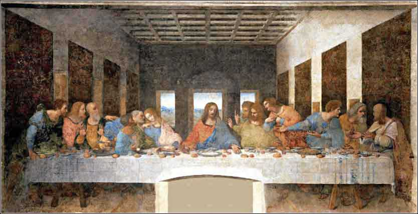 Last Supper by Da Vinci, Milan