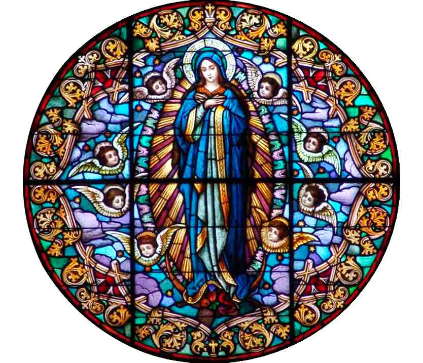 Window Virgin Mary Dominican Sisters