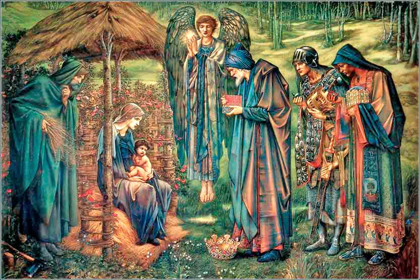 <i>The Star of Bethlehem</i> by Edward Burne-Jones, ca. 1890.