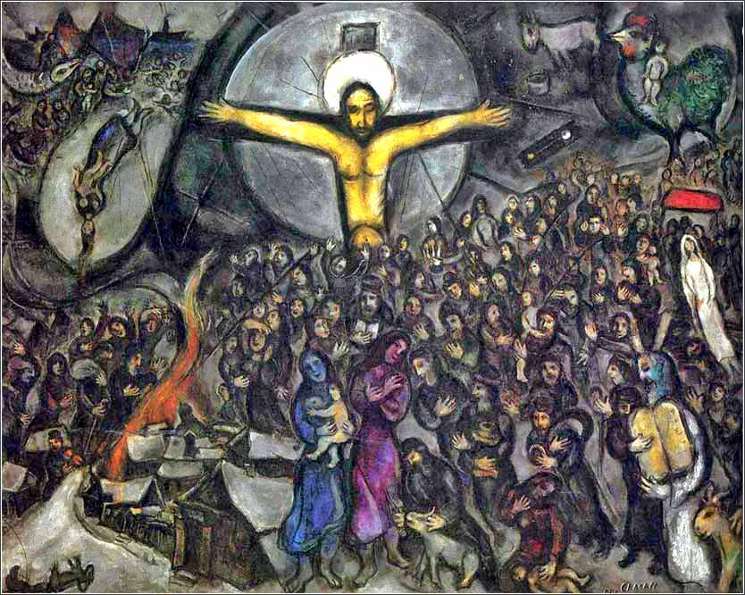 <i>Exodus</i> by Marc Chagall, ca. 1952.
