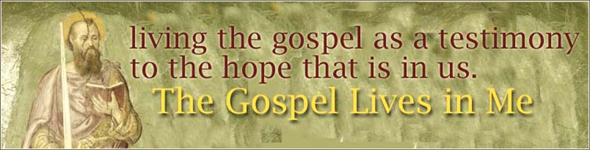 The Gospel lives in me