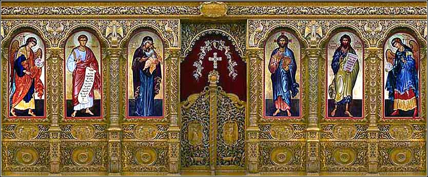 Orthodox iconostasis