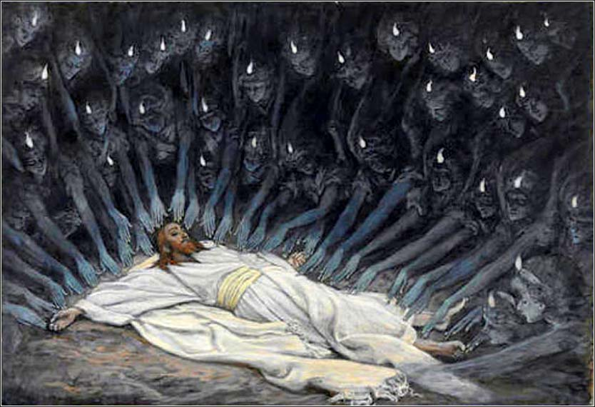 <i>Jesus Ministered to by Angels</i> by James Tissot, ca. 1894.