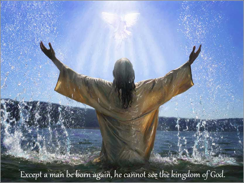 Jesus born again baptism