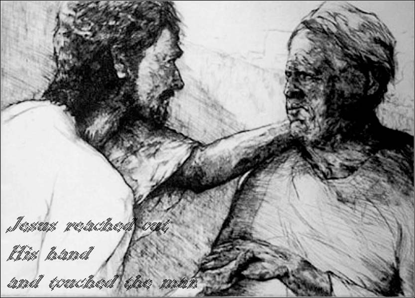 esus Touches the Leper,</i> Matthew 8:1-4