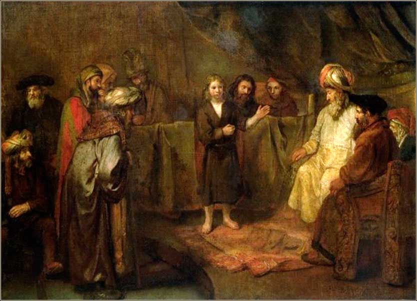 http://dailyprayer.us/photos820/jesus_twelve_scribes_rembrandt.jpg