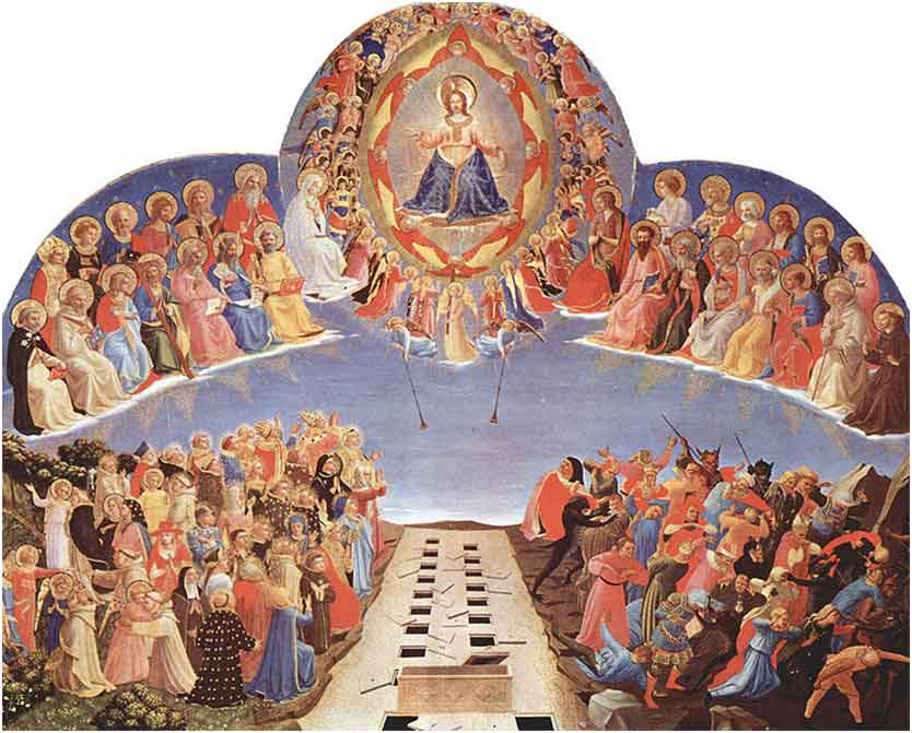 Day of Judgment, Fra Angelico, devotional painting