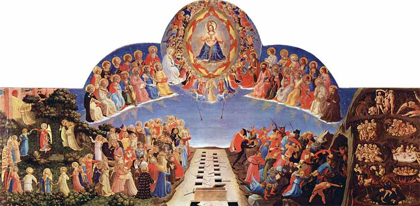 Day of Judgment, 'The Last Judgment', Fra Angelico, Devotional painting