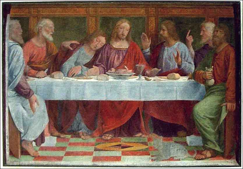 Last Supper by Luini
