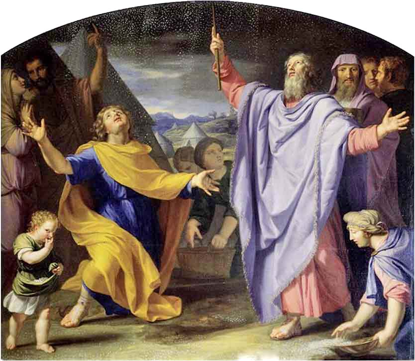 <i>Miracle of the Manna</i>, by Jean-Baptiste de Champaigne, c. 1656
