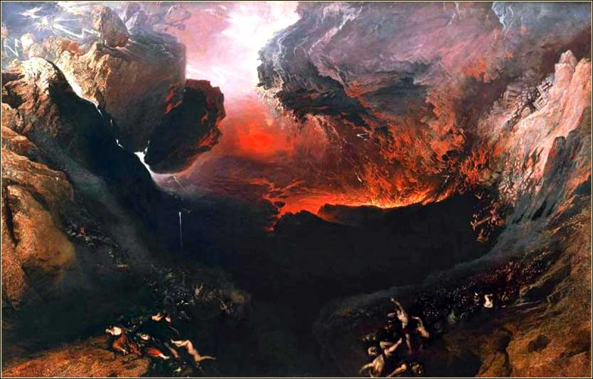 <i>The Great Day of His Wrath</i> by John Martin, ca. 1853