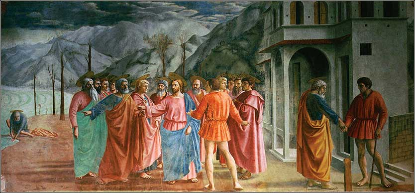 Masaccio <i>The Tribute Money</i>