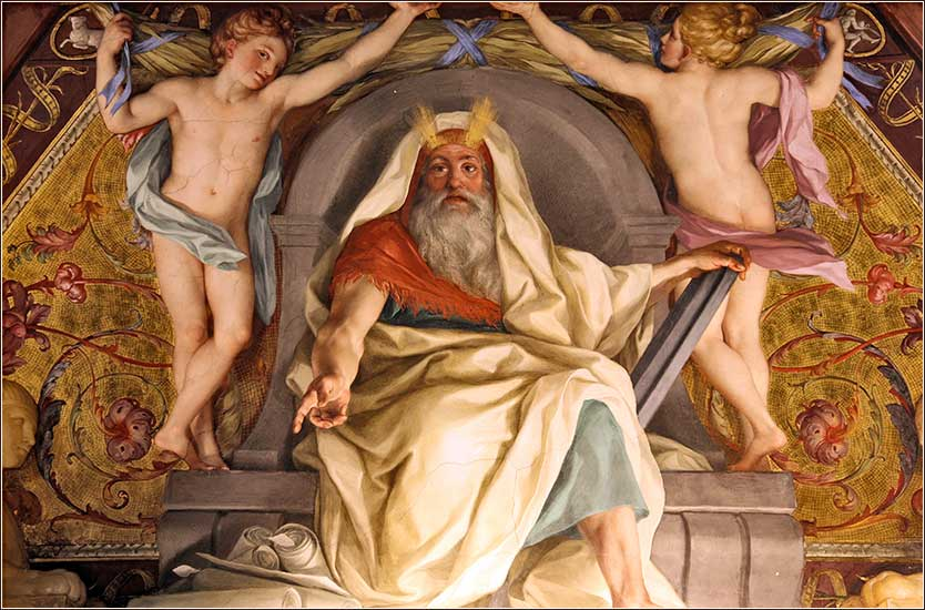 Moses with horns, Vatican Museum