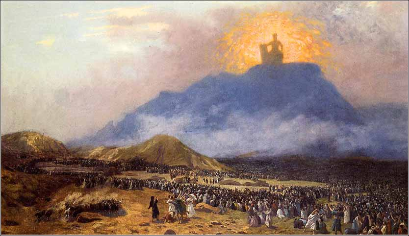 Moses on Mount Sinai
