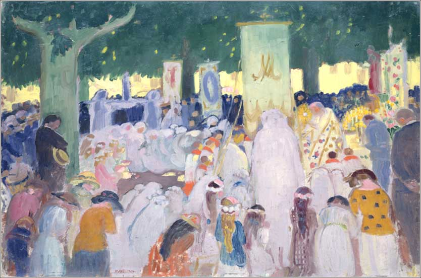 <i>Procession</i> by Maurice Denis, ca. 1919.