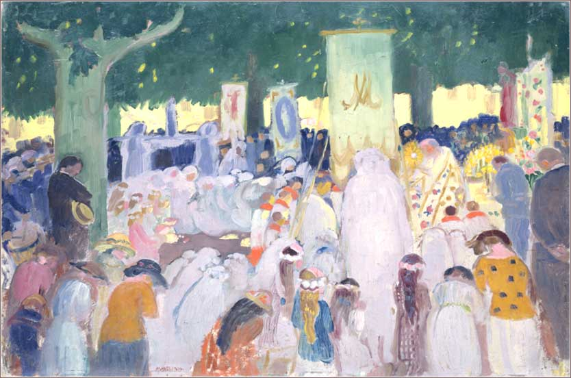 <i>Procession</i> by Maurice Denis, ca. 1919