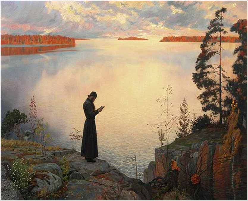 <i>Quietude</i> by Tatiana Yushmanova, contemporary (Russian).