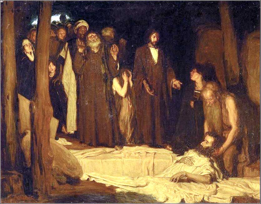 <i>The Resurrection of Lazarus</i> by Henry Ossawa Tanner, ca. 1898.